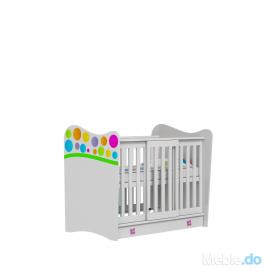 Łóżeczko RAINBOW Baby