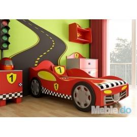 Łóżko samochód rajdowy -...