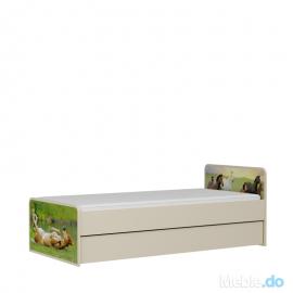 Łóżko KARINO pod materac...