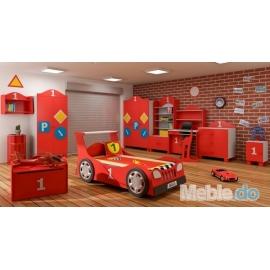 Komfortowy zestaw mebli BabyBest - TURBO CAR
