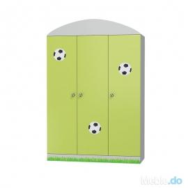 Szafa FOOTBALL 3 drzwiowa...