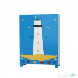 Szafa OCEANIC 3 drzwiowa...
