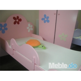 Zabezpieczenie do łóżka BabyBest FLOWER