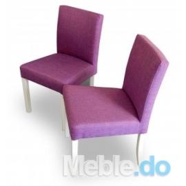 Styl Glamour Krzesło Wąskie Niskie