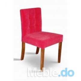 Styl Skandynawski Krzesło Wąskie Niskie