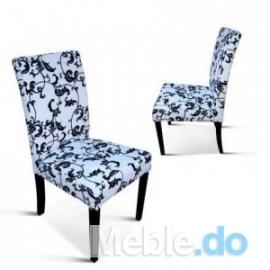 Nowoczesny Wygląd I Design Krzesło Wąskie Standard Kwieciste