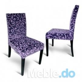 Styl Glamour Krzesło Wąskie...