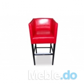 Hoker fotelikowy skośny wysoki