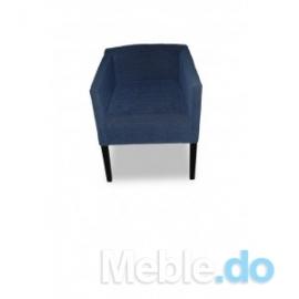 fotelik kubełkowy prosty niski