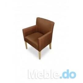 Klasyczny fotel prosty 84
