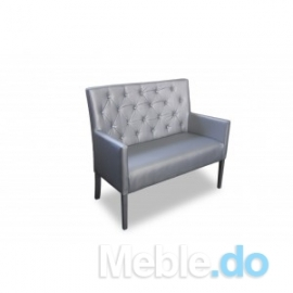 Pikowana ławka wysokość 98