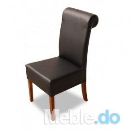 Krzesło niskie z wałkiem