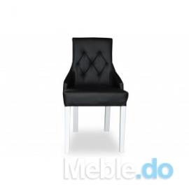 Krzesło kaczorek z pikowaniem
