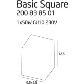 Basic Square Alu oprawa...