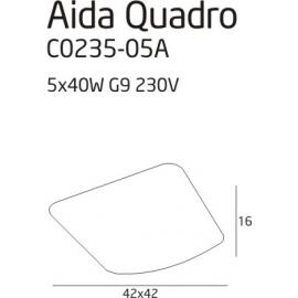 Plafon Aida Quadro 1