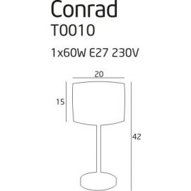 Conrad lampa biurkowa