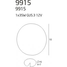 9915 oprawa halogenowa