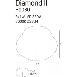 Diamond II oprawa podtynkowa