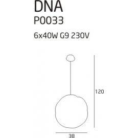 DNA lampa wisząca mała