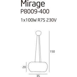 Mirage lampa wisząca mała
