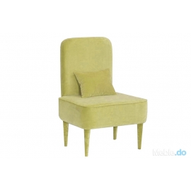Fotel Pastel Limonka