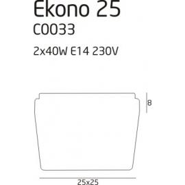 Ekono 25 plafon