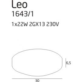 Leo plafon mały