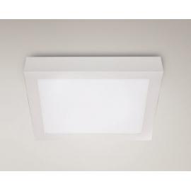 Panelled square plafon mały