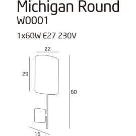 Michigan round kinkiet