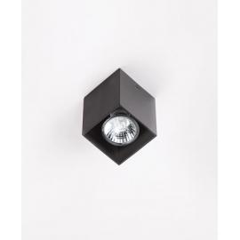 Pet Square plafon czarny