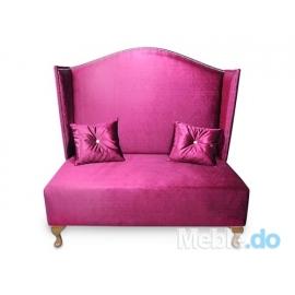 Sofa Pompadur 120  Velvet