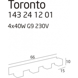Toronto 4 kinkiet