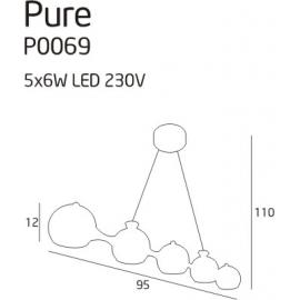 Pure II lampa wisząca