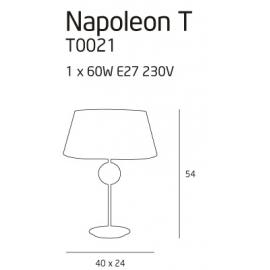 Napoleon lampa biurkowa