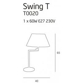 Swing lampa biurkowa