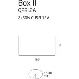 Box 2 oprawa halogenowa
