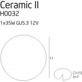 Ceramic II oprawa...