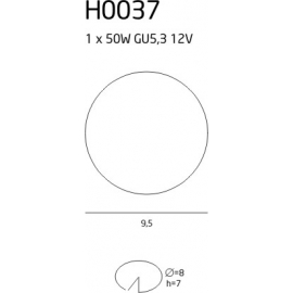 H0037 oprawa halogenowa