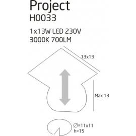 Project H oprawa podtynkowa
