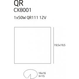 QR 1 oprawa halogenowa