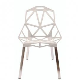 Krzesło Carbonia Biała