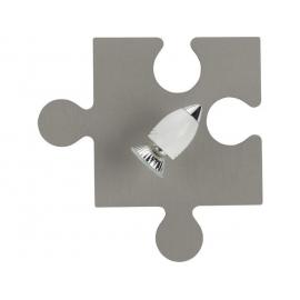 Lampa dziecięca Puzzle Gray
