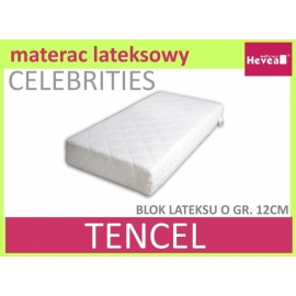 Materac CELEBRITIES BABY 60x120 z pokrowcem Tencel