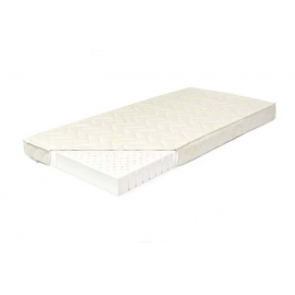Materac lateksowy BABY 60x120 pokrowiec Aloe Vera