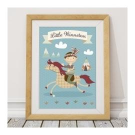 Plakat My little Winettou