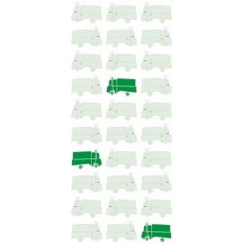Tapeta Cars Ilowaz zielona II