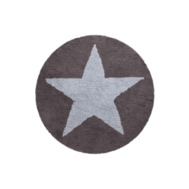 Dywan bawełniany dwustronny Star Blue