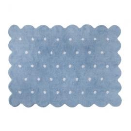 Dywan bawełniany Galleta Blue