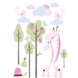 Naklejki Żyrafy
