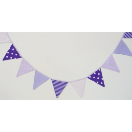 Girlanda Purple Rain